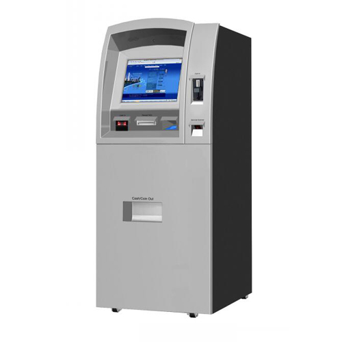 Self-Service Automation Coins To Cash Exchange Kiosk Machine