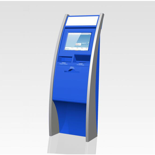 Self-Service Collecting Tickets KIOSK For Cinema Museum Bus Metro Railway Station And Bank Reception Desk