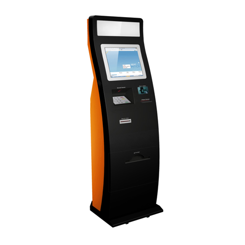 Self Service Payment Kiosk With Cash Acceptor Free Standing Kiosk Parking Kiosk