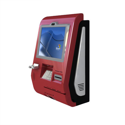 Wall Mounted Bill Payment Kiosk Self Service Charge Top Up Kiosk